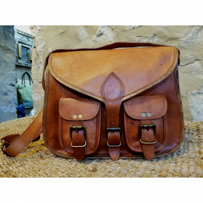 Satchel Style Saddle Bag, for some it's love at first sight!
